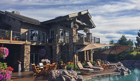 Black Rock Luxury Real Estate with Pool