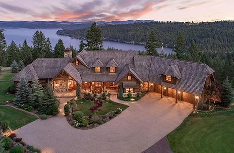 The Golf Club at Black Rock Luxury Real Estate wit CDA Lake View