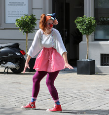 Tag der offenen Tür mit Seppli und Clown Mimi