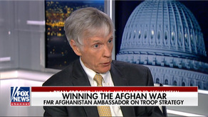 Ambassador Crocker: Relieved US-Taliban talks have stopped for now