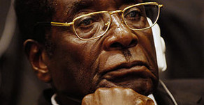 Robert Mugabe and Zimbabwe's new president, Emmerson Mnangagwa