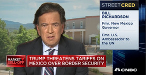 Ambassador Richardson: Tariffs on Mexico is the wrong policy