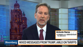 Ambassador Garza: US needs to work together with Mexico on migration issues