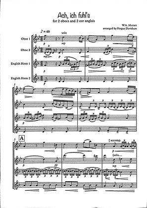 """Mozart's """"Ach, ich fühl's"""" Aria"""