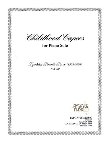 Childhood Capers by Zenobia Powell Perry