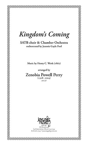 Kingdom's Coming, SATB choir and chamber orchestra
