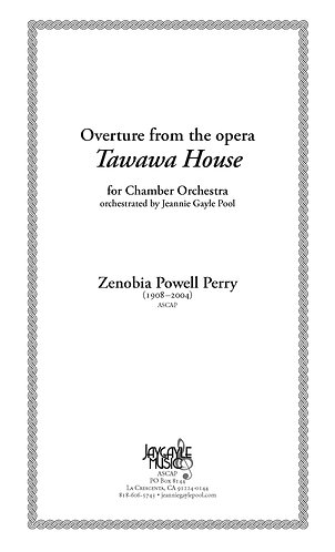 Overture from opera Tawawa House for chamber orchestra