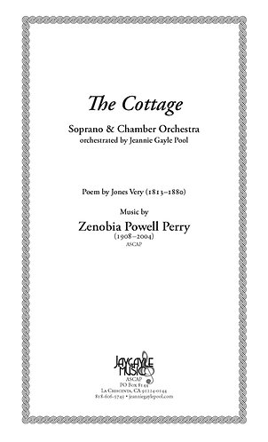 The Cottage for soprano and chamber orchestra