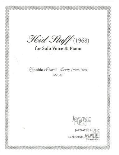 Kid Stuff (1968) for soprano and piano