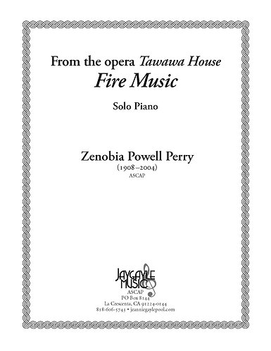 Fire Music from Tawawa House for solo piano