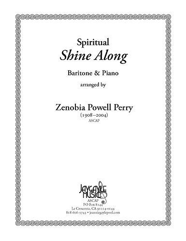 Shine Along for baritone and piano