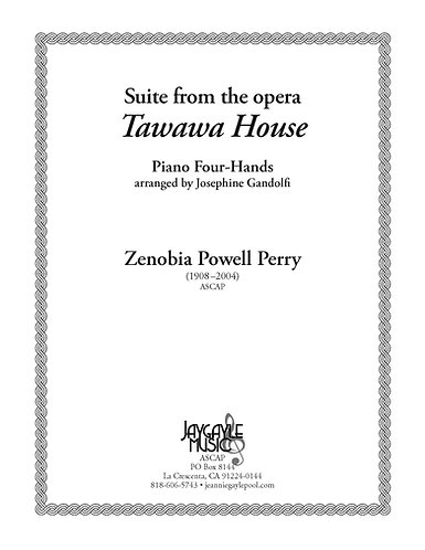 Suite from Tawawa House, piano four hands