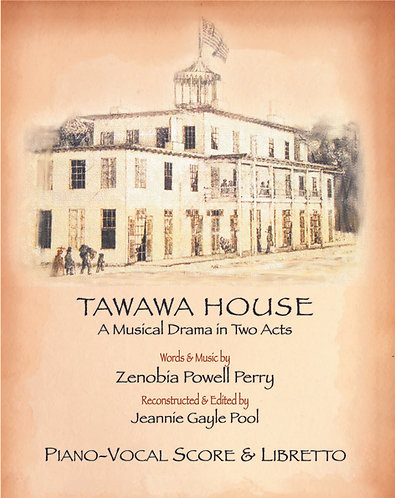 Tawawa House Piano Vocal Score & Libretto