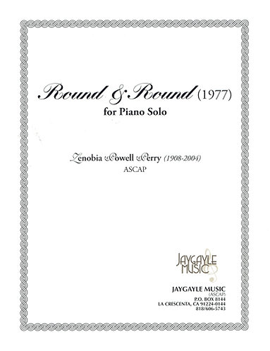Round & Round (1977) for piano solo