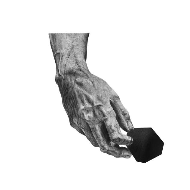 Davids Hand with Stone