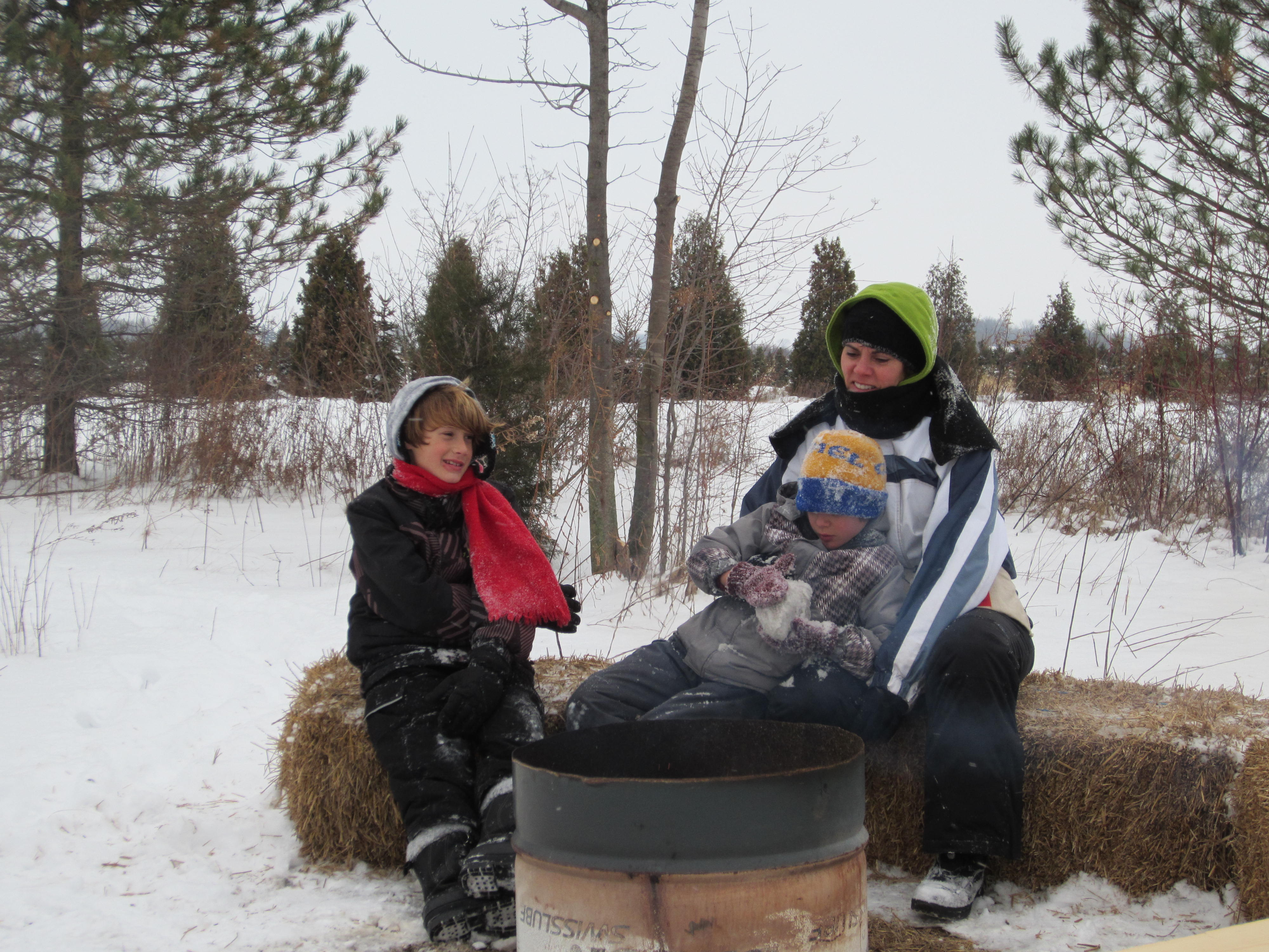 Enjoy a campfire