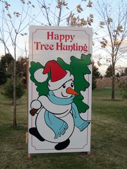 Happy Tree Hunting