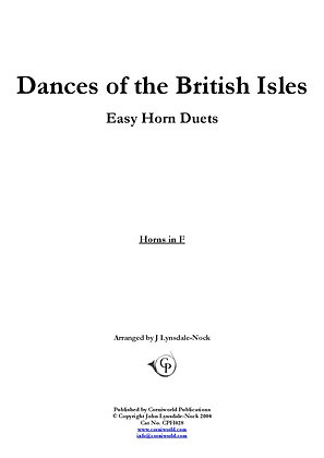 Easy Duets - Dances of the British Isles