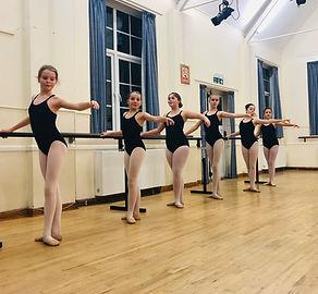 IDTA Grade Four ballet class