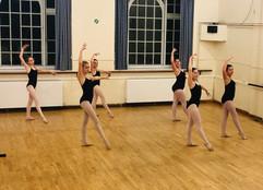Ballet class Burwash East Sussex