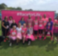 Race for Life dancers