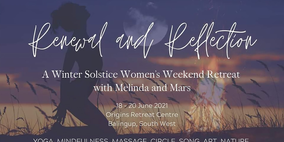 RENEWAL & REFLECTION: Women's Winter Retreat   *SOLD OUT*