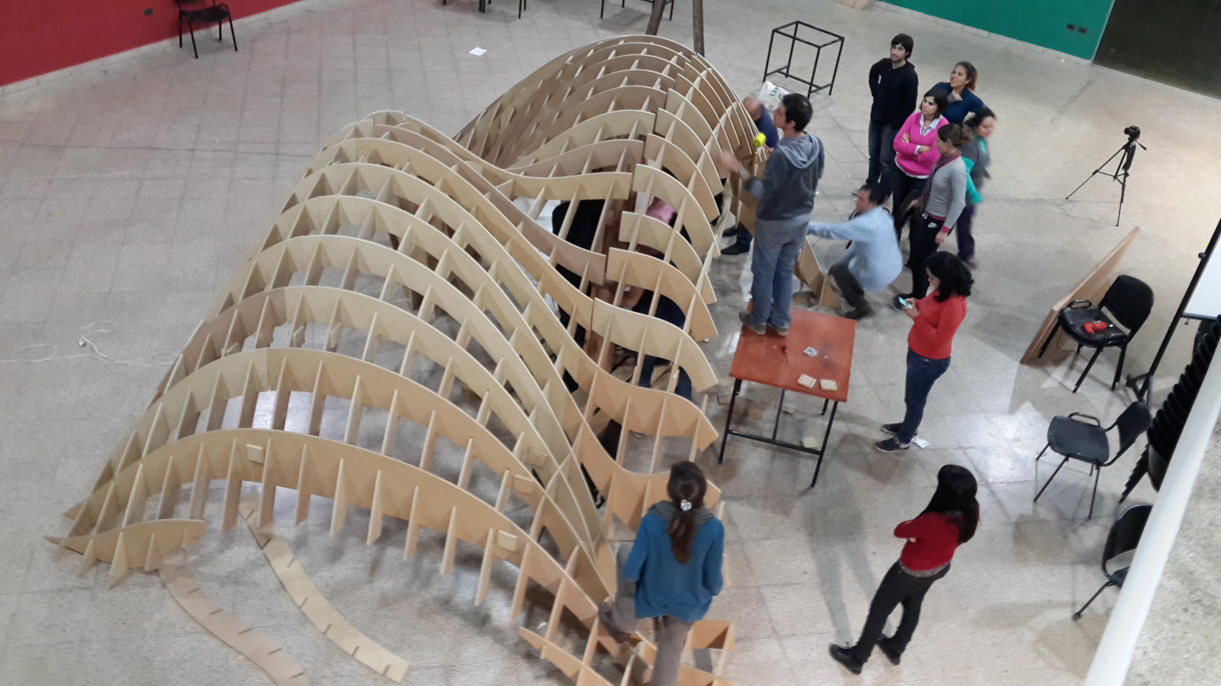Takuru Pavilion WIP