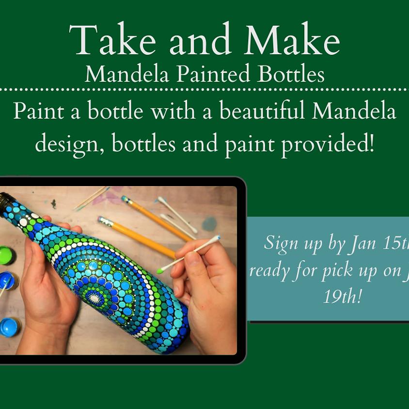 Take and Make - Mandela bottles