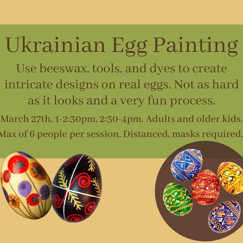 Ukrainian Egg Painting (Session 1)