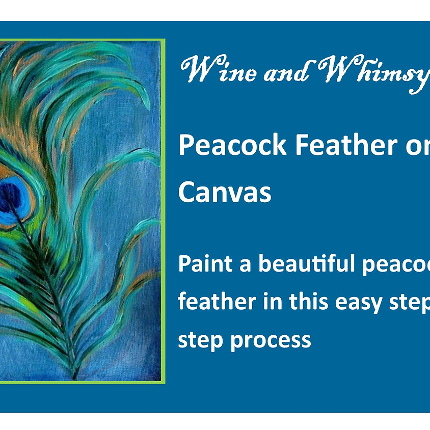 Easy Peacock Feather