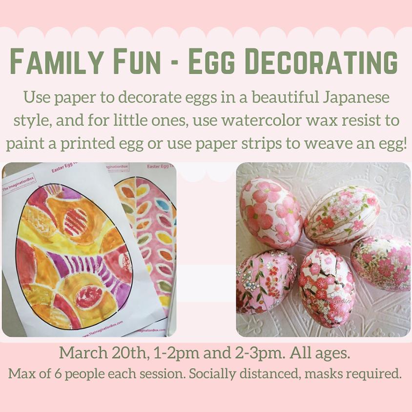 Family Fun - Egg Decorating