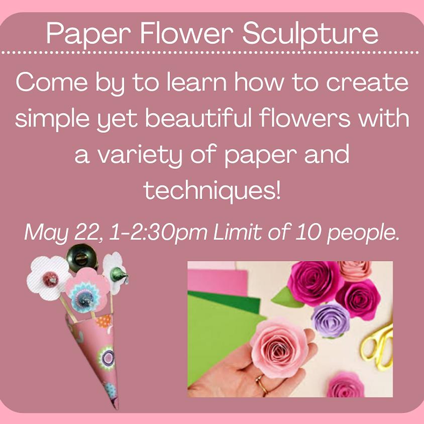 Paper Flower Sculpture