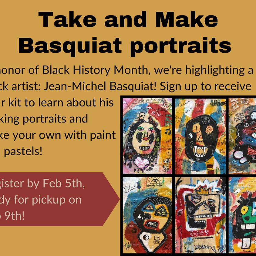 Take and Make - Basquiat Portrait