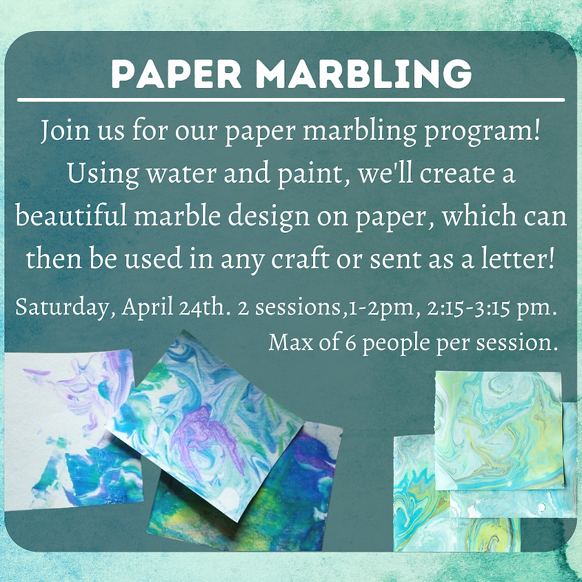 Paper Marbling (session 2)