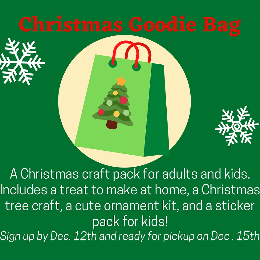 Christmas Goodie Bag
