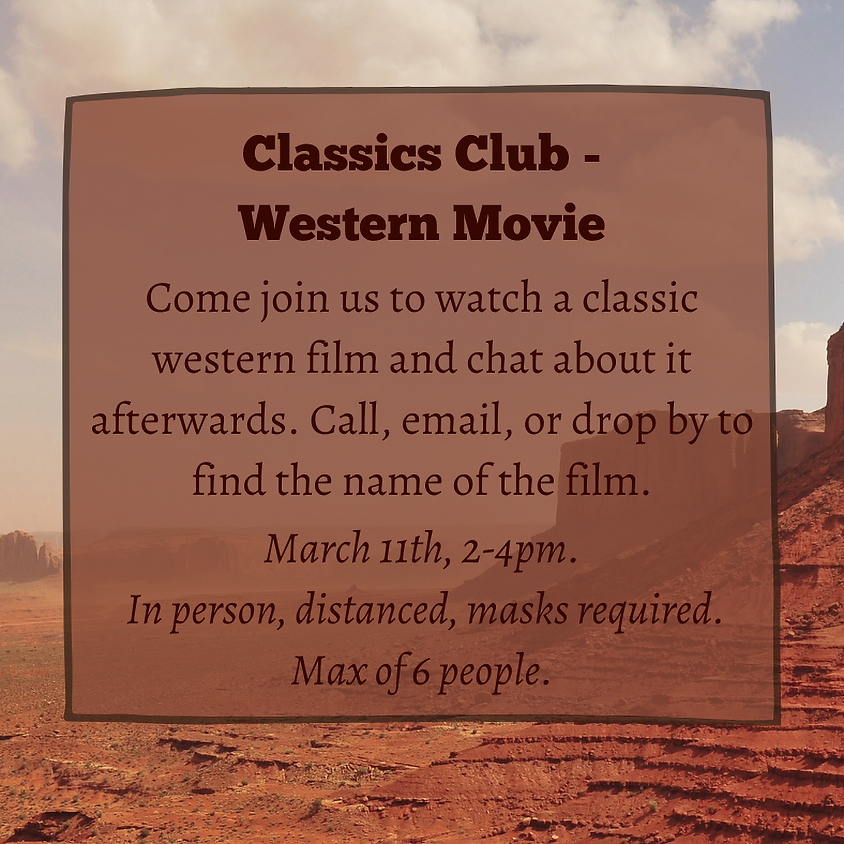 Classics Club - Western Movie