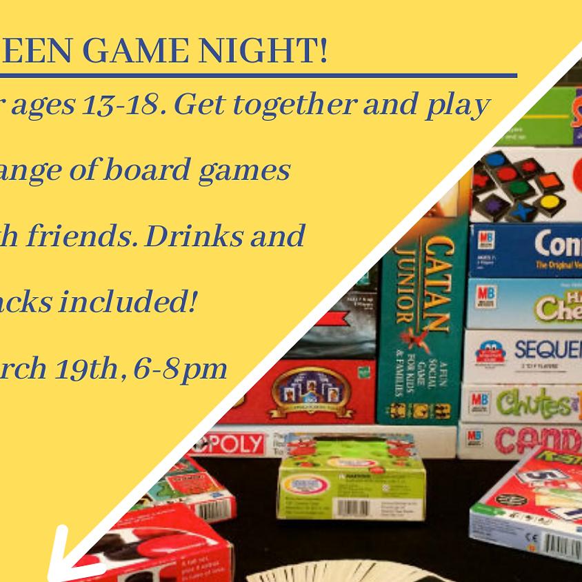 TEEN GAME NIGHT