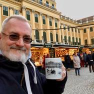 Dave at Schönbrunn XMAS Market
