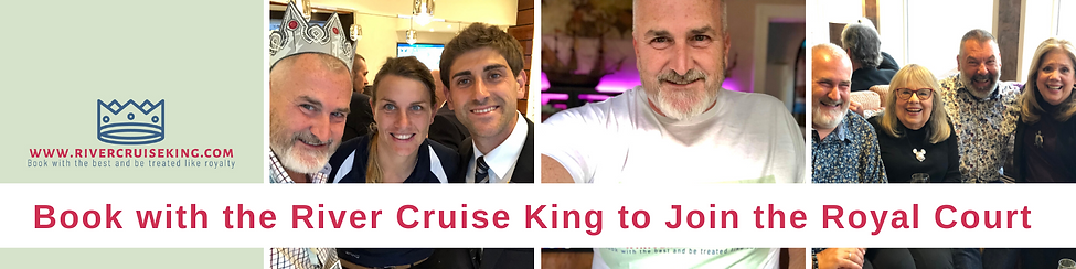 Book with the River Cruise King & Join t