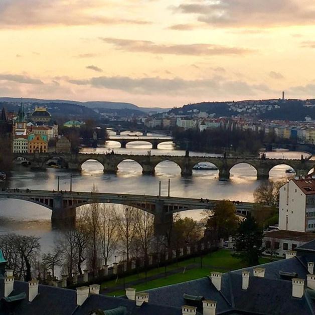 Prague with Peter