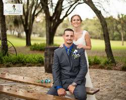 rustic wedding up the creek farms