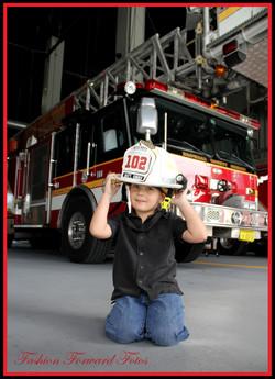 firefighter kid