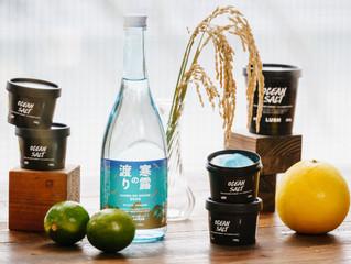 宮の華の国産米泡盛を使用した、ラッシュジャパンの商品が新発売