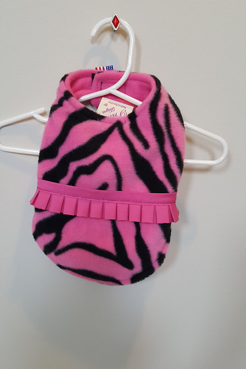 Fuchsia with black zebra print
