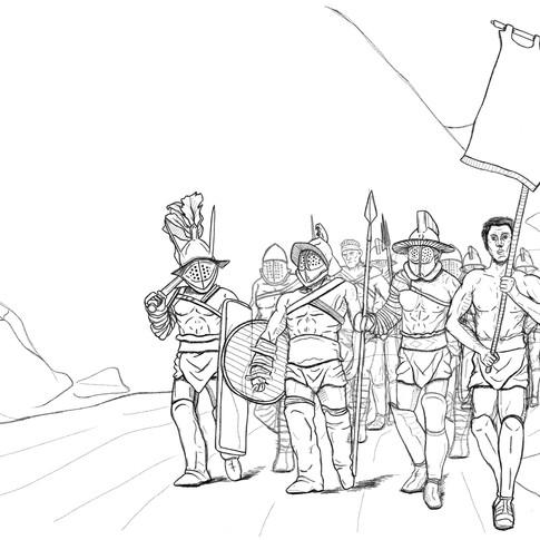 Los gladiadores de la plaga