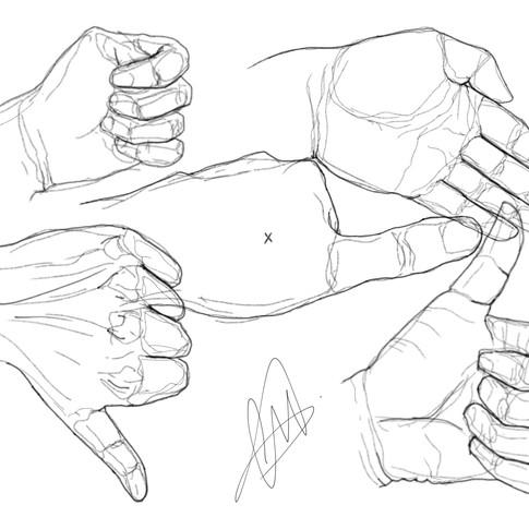 Los gestos de la mano