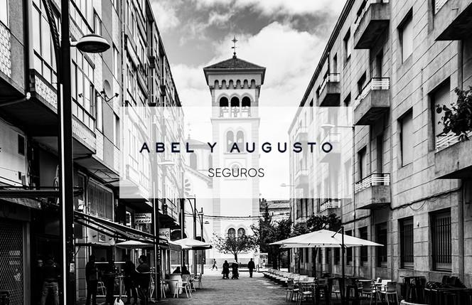 Frente Tarjeta visita 1 Abel y Augusto