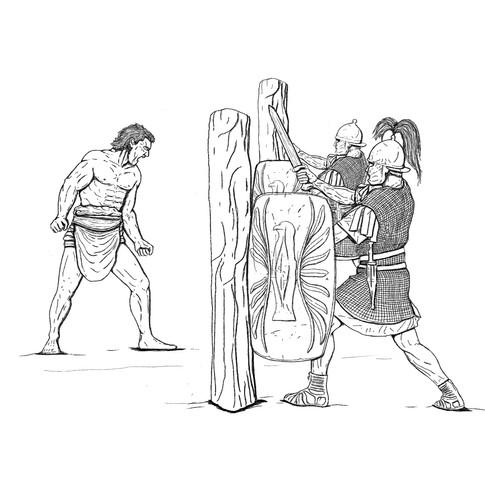 Gladiadores en el ejército