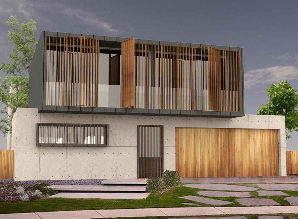 Concrete House
