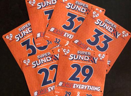 Six Bibs for Super Sunday